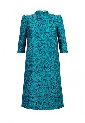 Платье Ksenia Knyazeva. Цвет: бирюзовый
