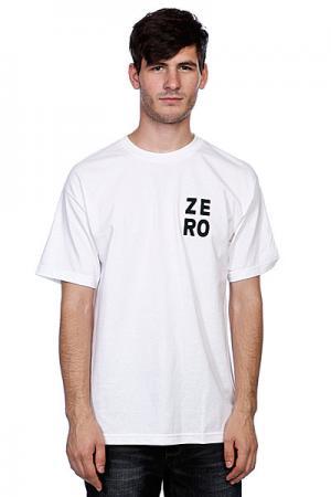 Футболка  Numero White/Black Zero. Цвет: черный