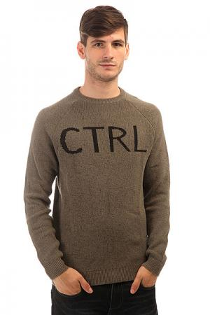 Свитер  Ctrl Sweater Sage Altamont. Цвет: серый