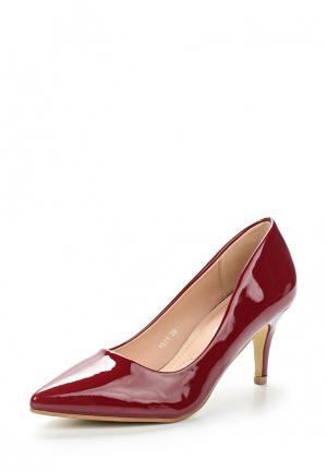 Туфли BelleWomen. Цвет: бордовый