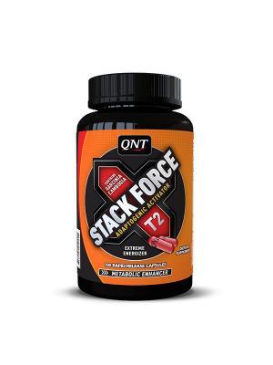 Энергетический комплекс QNT Stack Force (100 кап). Цвет: черный, оранжевый