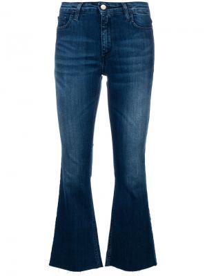 Укороченные брюки клеш Federica Tosi. Цвет: синий