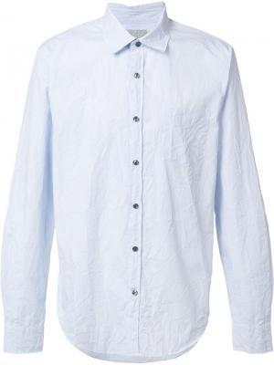 Классическая рубашка Vince. Цвет: синий
