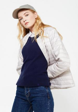 Куртка утепленная Wega. Цвет: бежевый