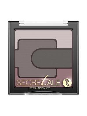 Тени Для Век Разноцветные Secretale Eyeshadow Kit Тон 4 Bell. Цвет: коричневый