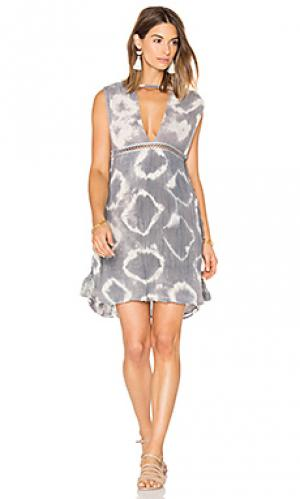 Платье-накидка canary Jens Pirate Booty Jen's. Цвет: серый