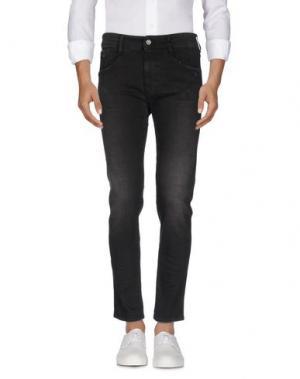 Джинсовые брюки UNIFORM. Цвет: черный