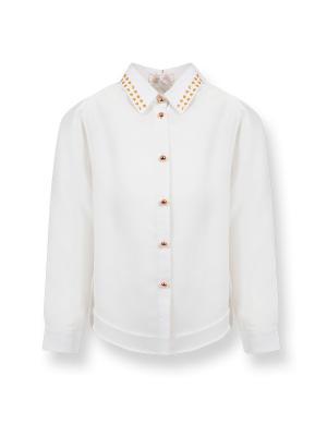 Блузка De Salitto. Цвет: молочный