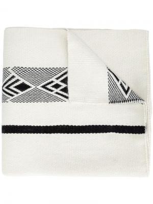 Шаль Diagonal Voz. Цвет: белый
