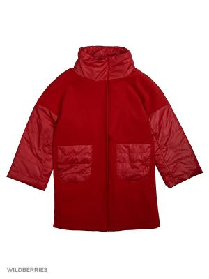 Пальто MARIELA. Цвет: красный
