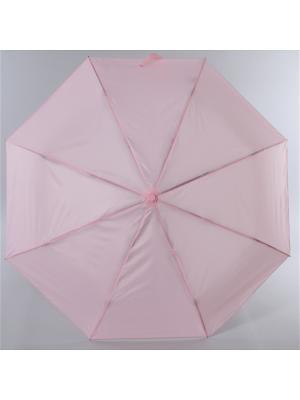 Зонт Torm, Женский, 3 сложения, Автомат,  Полиэстер Torm. Цвет: бледно-розовый