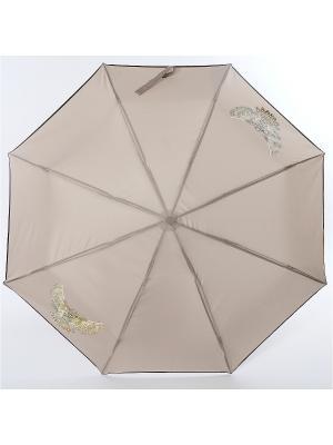 Зонт ArtRain. Цвет: серый, темно-бежевый