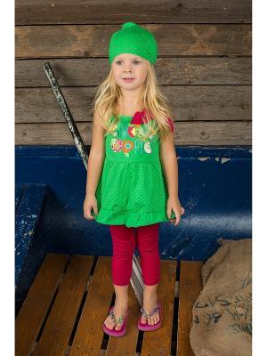 Комплект одежды Sweet Berry. Цвет: зеленый, красный