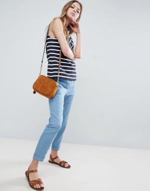 See U Soon Джинсовые брюки-галифе. Цвет: синий
