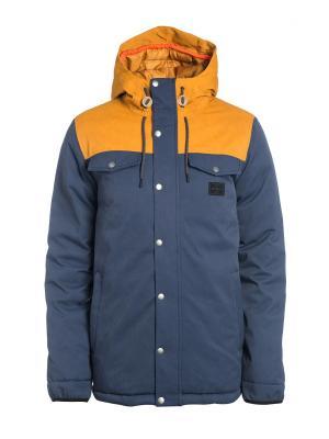Куртка  P-LIGHT ANTI JACKET Rip Curl. Цвет: темно-синий, оранжевый