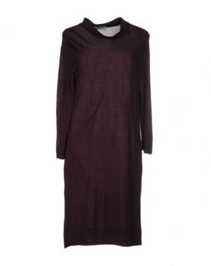 Короткое платье AMINA RUBINACCI. Цвет: баклажанный