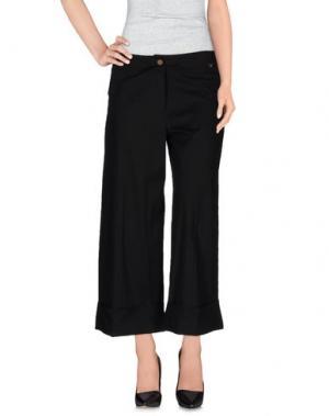 Повседневные брюки ALAN RED. Цвет: черный