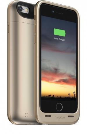 Чехол-аккумулятор Juice Pack Air для iPhone 6/6s на 2750 mAh Mophie. Цвет: золотой
