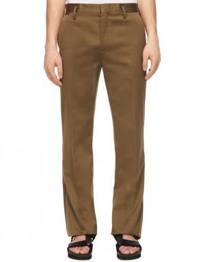 Классические брюки Marc Jacobs. Цвет: бежевый