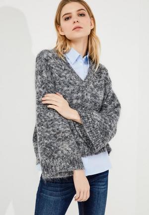 Пуловер One Teaspoon. Цвет: серый