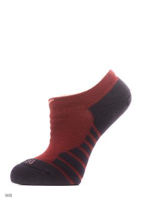 Носки W NK DRY CUSH NS 3PR Nike. Цвет: красный, розовый, серый