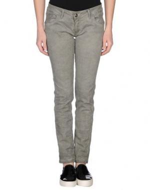 Повседневные брюки GUARAPO. Цвет: зеленый-милитари