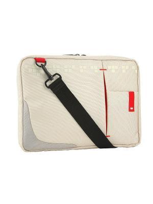 Сумка для ноутбука crown cmsbg-4410w (genuine series) white 10,2. Цвет: белый