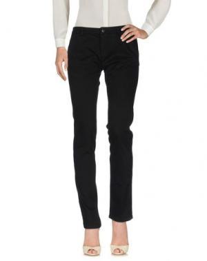 Повседневные брюки BREBIS NOIR. Цвет: черный