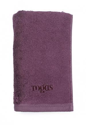 Полотенце Togas. Цвет: фиолетовый