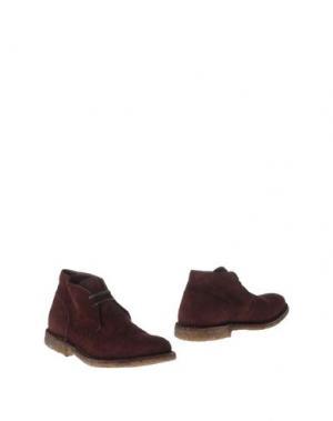 Полусапоги и высокие ботинки PANTOFOLA D'ORO. Цвет: баклажанный