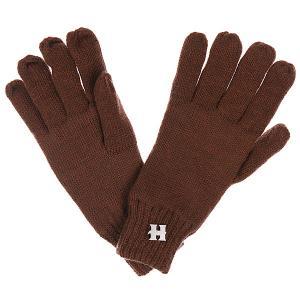 Перчатки  Henry Strong Gloves Brown/Melange Harrison. Цвет: коричневый