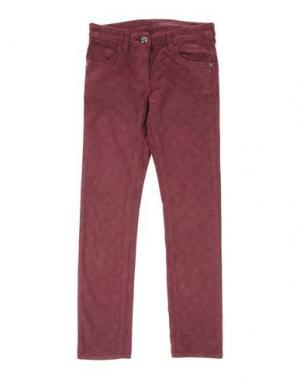 Повседневные брюки EDDIE PEN. Цвет: красно-коричневый