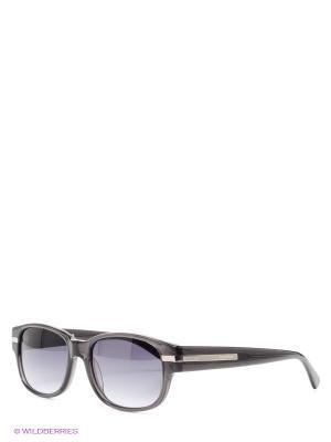 Солнцезащитные очки Byblos. Цвет: антрацитовый