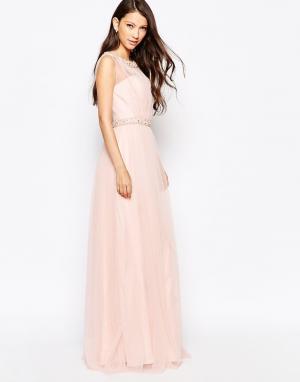 Key Collections Красивое платье Ashley Roberts специально для. Цвет: розовый