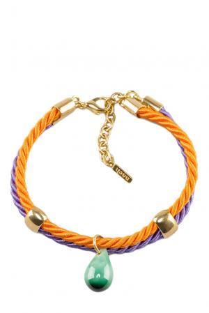 Браслет 117053 Nach Jewellery. Цвет: зеленый