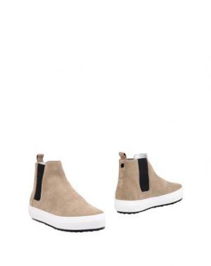 Полусапоги и высокие ботинки PIERRE HARDY. Цвет: песочный