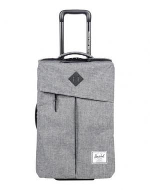Чемодан/сумка на колесиках HERSCHEL SUPPLY CO.. Цвет: серый