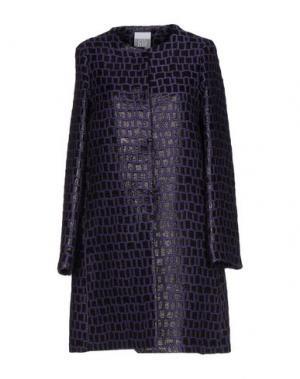 Пальто JIJIL. Цвет: фиолетовый