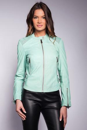 Куртка Giorgio. Цвет: голубой