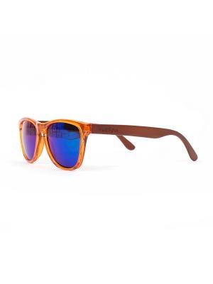 Очки TRUESPIN Nu Bamboo True Spin. Цвет: оранжевый