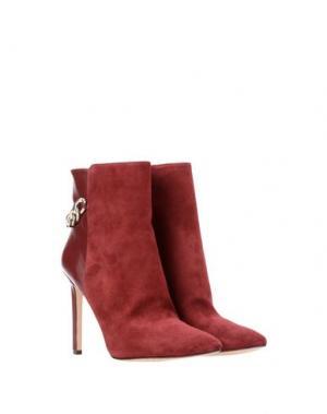 Полусапоги и высокие ботинки NINE WEST. Цвет: пурпурный