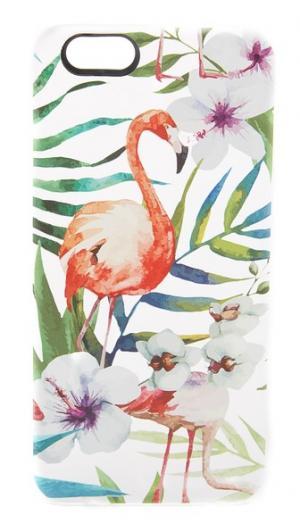 Чехол Flamingo для iPhone 6/6s с тропическим принтом Casetify