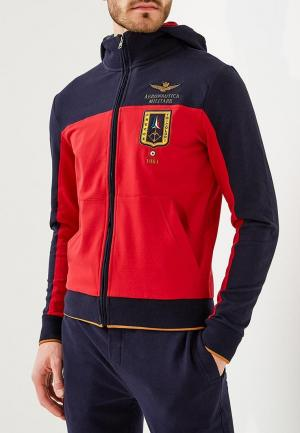 Толстовка Aeronautica Militare. Цвет: красный