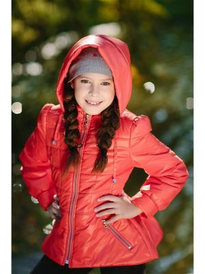 Куртка Алина DUWALI. Цвет: красный