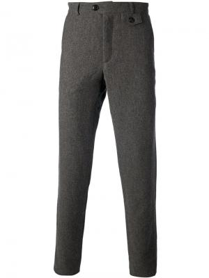 Fishtail trouser Oliver Spencer. Цвет: серый