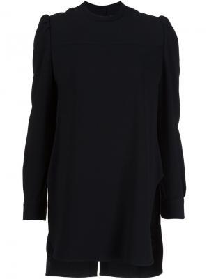 Удлиненная блузка Co. Цвет: чёрный