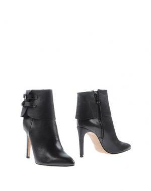 Полусапоги и высокие ботинки GIORDANA F.. Цвет: стальной серый
