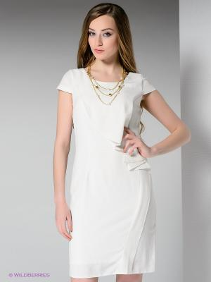Платье MELANY. Цвет: молочный