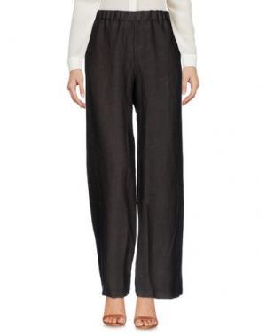 Повседневные брюки ROSSOPURO. Цвет: темно-коричневый