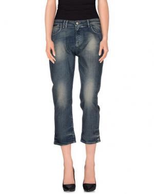 Джинсовые брюки CYCLE. Цвет: синий
